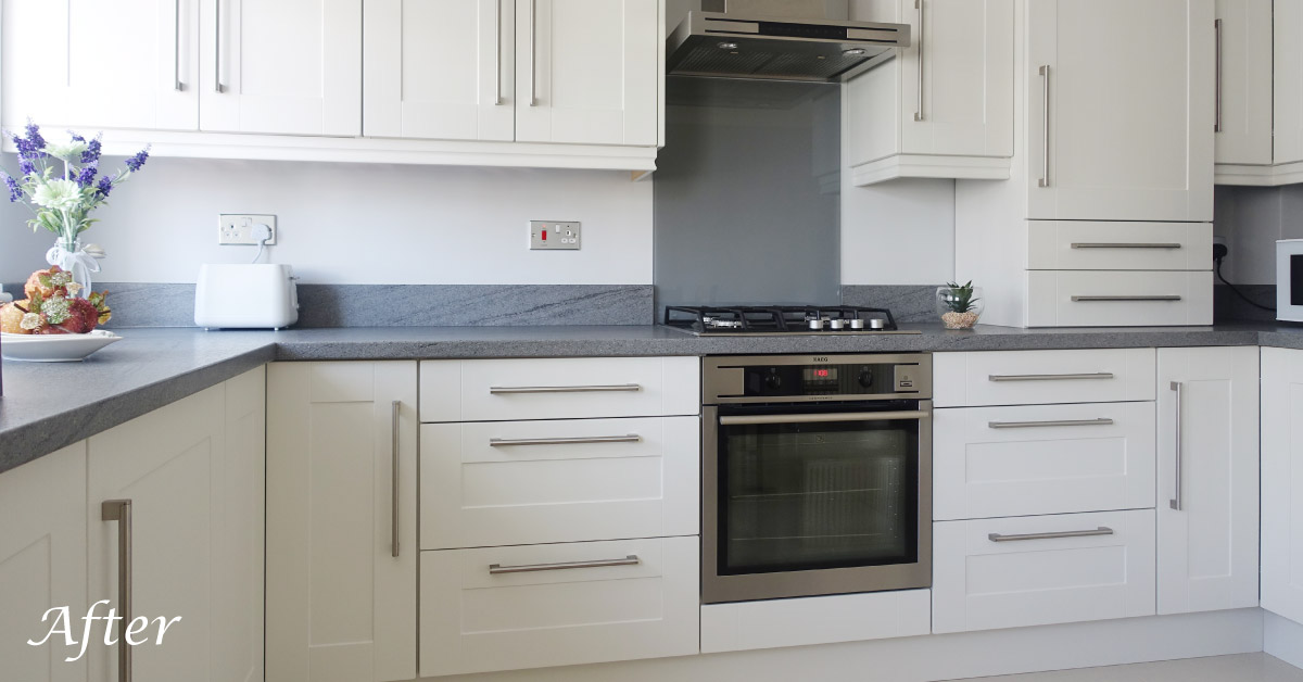Pictures Of Grey And White Kitchens