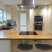 Alabaster gloss kitchen