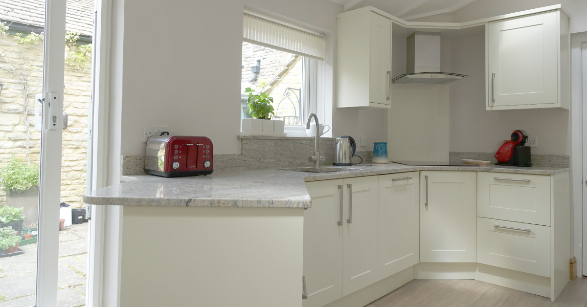 Shaker Style kitchen in Kettering