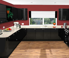 Plan your kitchen online