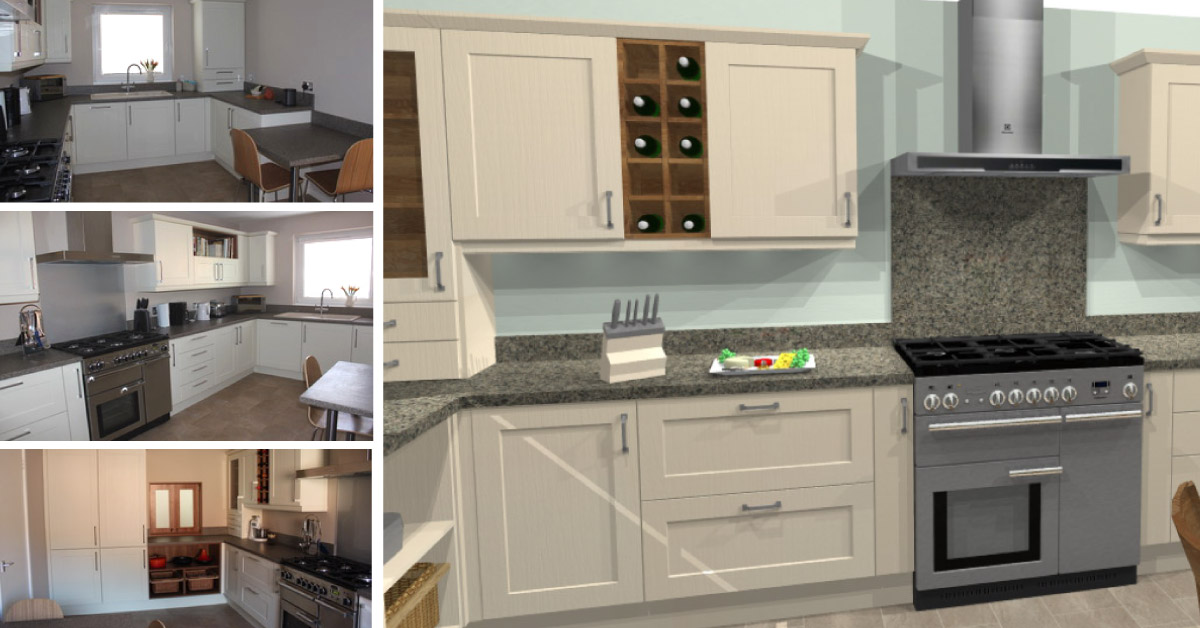Kitchens Milton Keynes Separate Utility Area In Matching Materials To Kitchen Utility Rooms