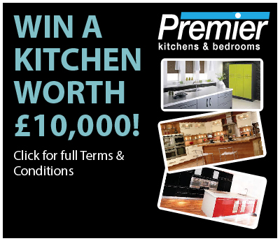 Win a kitchen premier kitchens bedrooms for Win a kitchen remodel