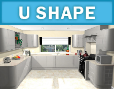 U Shape Kitchen