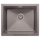 Cube Granite Undermount/inset 1.0 Bowl Sink Graphite Grey - PKS1103GR