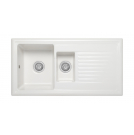 Athena 1.5 Bowl Sink Gloss White - PKS1109