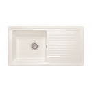 Athena 1.0 Bowl Sink Gloss White - PKS1108
