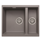 Cube Granite Undermount/inset 1.5 Bowl Sink Graphite Grey - PKS1104GR
