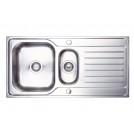 Hades 1.5 Bowl Sink Brushed Steel - PKS1114