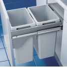 Euro-Cargo 45 waste bin with soft control 450mm wide - 503.70.922