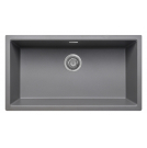 Cube Granite Undermount Large Bowl Sink Graphite Grey - PKS1105GR