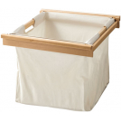 Laundry basket with beech frame for pull out frame - 805.82.310