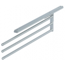 Aluminium Towel Rail, 3 Rails - 510.50.935