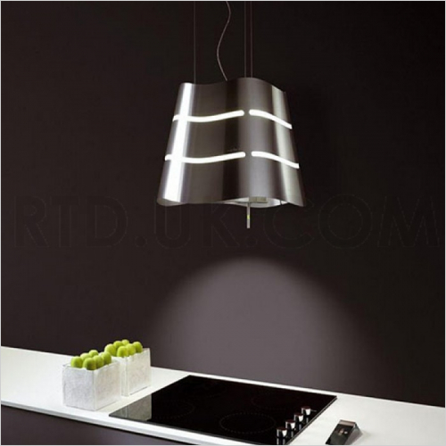 Wall/Ceiling Mounted Decorative Hood 510mm Stainless Steel